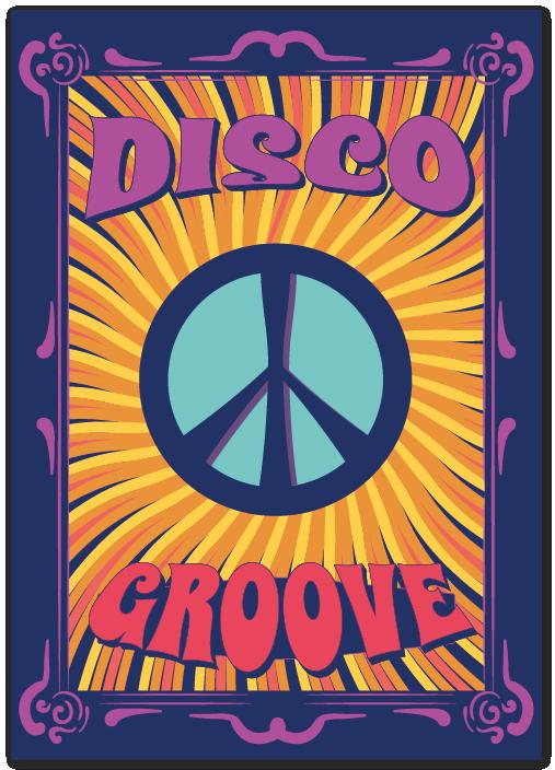 Diseño Dibujos Hippies