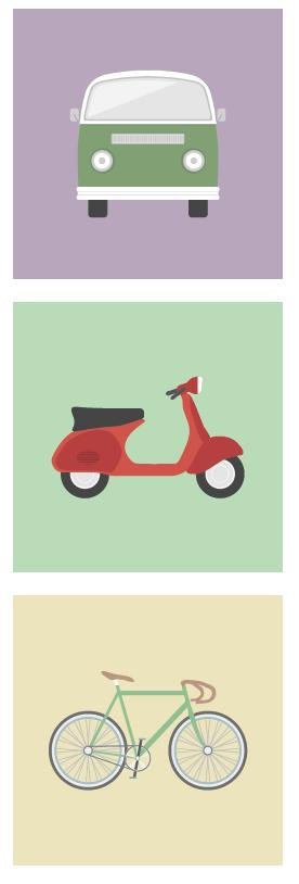 Mosaico transporte